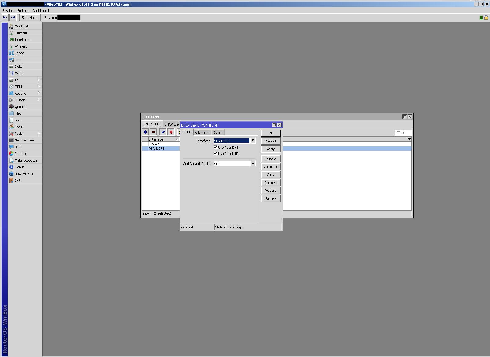 Configurar Mikrotik cambiando ONT de operador Jazztel